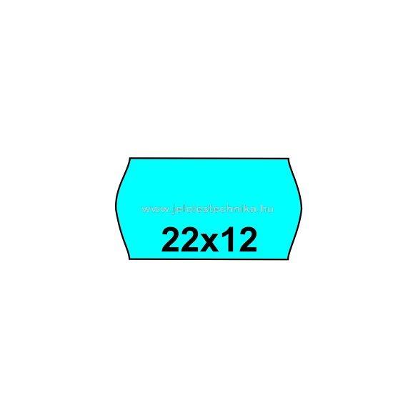 22x12mm KÉK színű árazószalag
