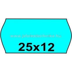 25x12mm KÉK színű árazószalag