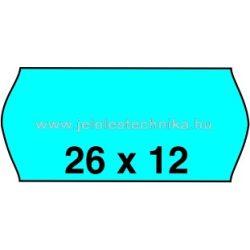 26x12mm KÉK színű árazószalag