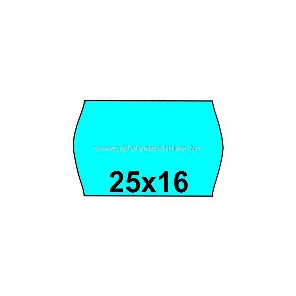 25x16mm KÉK színű árazószalag
