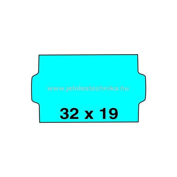 32x19mm KÉK színű árazószalag