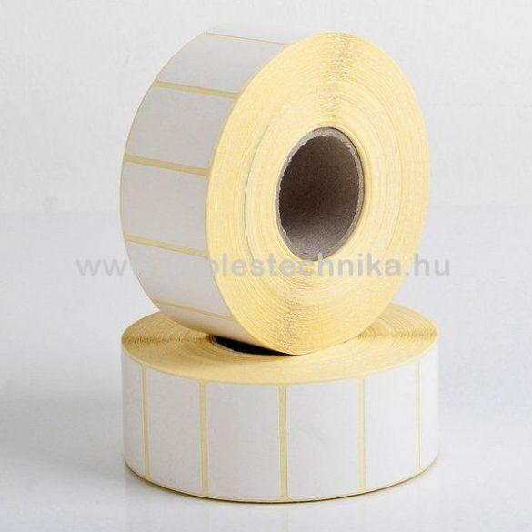 30x44mm THERMO öntapadós címke, 1000db/tekercs
