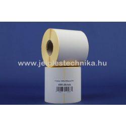 100x100mm THERMO öntapadós címke, 600db/tekercs