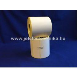 152,4x101,6mm perf.THERMO öntapadós címke, 400db/tekercs