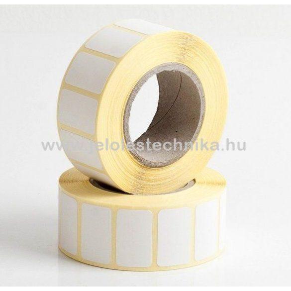 13x36mm VELLUM (matt papír) öntapadós címke, 1000db/tekercs