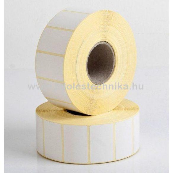 20x32mm VELLUM (matt papír) öntapadós címke, 1000db/tekercs