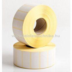 25x50mm VELLUM (matt papír) öntapadós címke, 1000db/tekercs