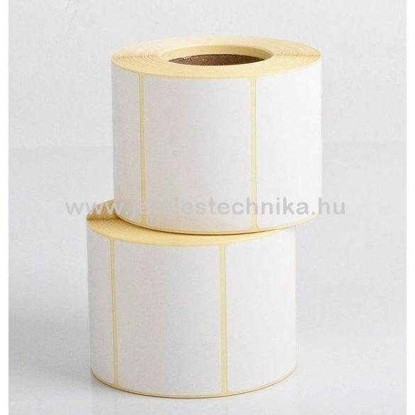 38x70mm VELLUM (matt papír) öntapadós címke, 1000db/tekercs