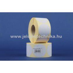 50mm VELLUM (matt papír) körcímke, 1000db/tekercs