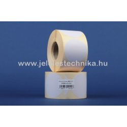 60mm VELLUM (matt papír) körcímke, 1000db/tekercs