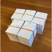 Etikett ruhára fehér (nyomatlan) 200db/csomag