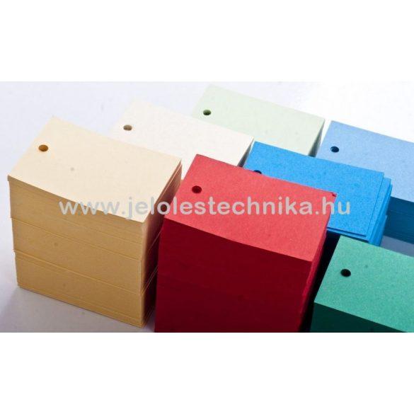 Etikett ruhára színes (nyomatlan) 200db/csomag
