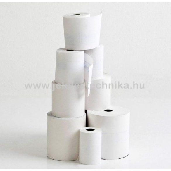 Hőpapír 57/30/12mm BPA mentes (8fm/tekercs); 100tekercs/doboz