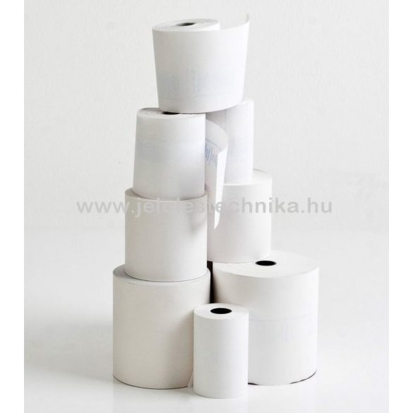 Hőpapír 57/80/12mm (80fm/tekercs); 50tekercs/doboz