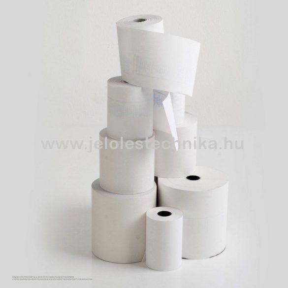 Hőpapír 80/80/12mm (75fm/tekercs); 25tekercs/doboz