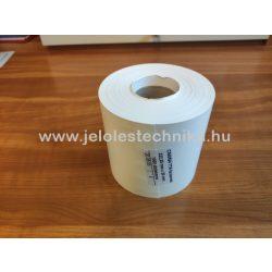 Facsemete címke (222×20mm) fehér
