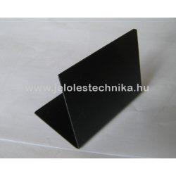 Fekete műanyag tábla (krétafilccel írható) A0
