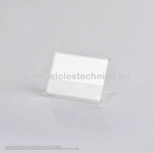 Plexi ártábla 40x60mm