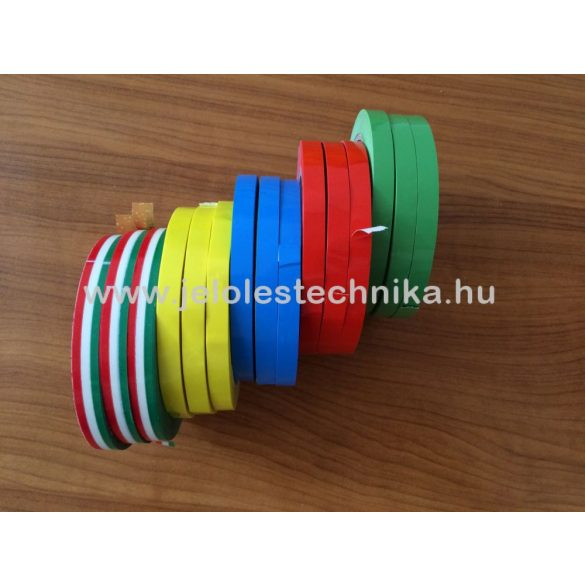 Tasakzáró szalag NEMZETI színű 9mmx66m