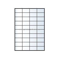 Íves A4 etikett = 52,5x29,7mm; 40db/ív ; 100ív/doboz
