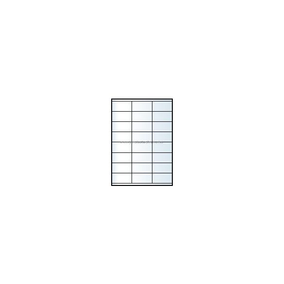 Íves A4 etikett = 70x35mm; 24db/ív; 100 ív/doboz