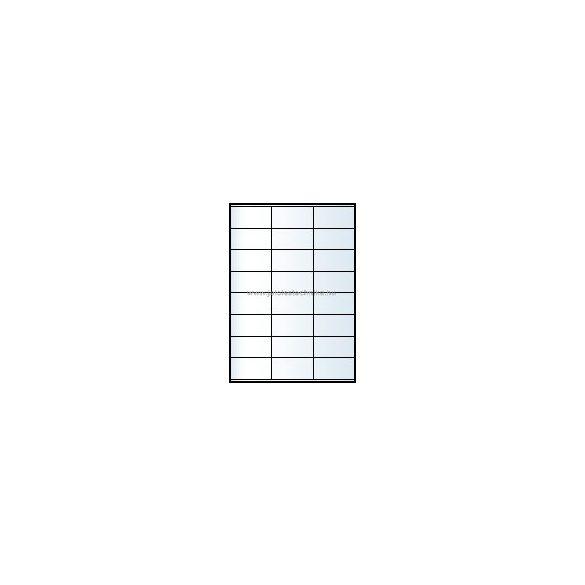 Íves A4 etikett = 70x36mm; 24db/ív; 100 ív/doboz