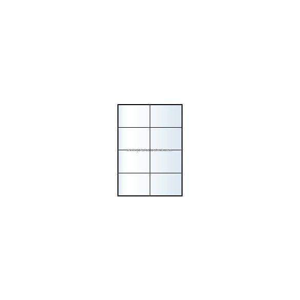 Íves A4 etikett = 105x74mm; 8db/ív; 100 ív/doboz