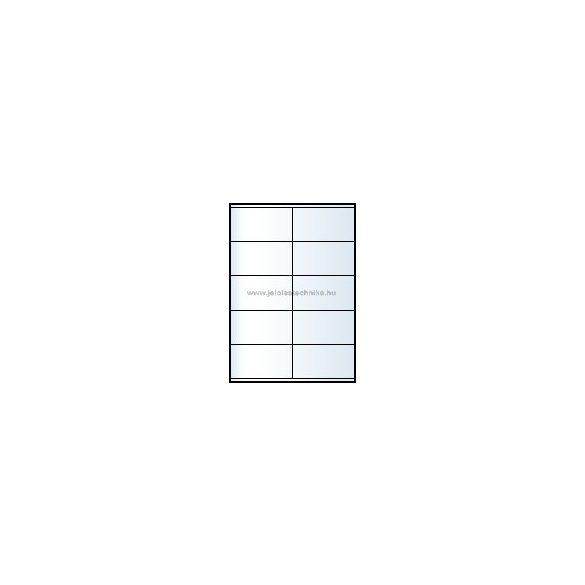 Íves A4 etikett = 105x57mm; 10db/ív; 100 ív/doboz