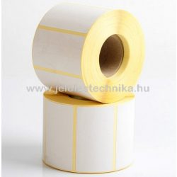 38x75mm THERMO öntapadós címke, 1 000 db/tekercs