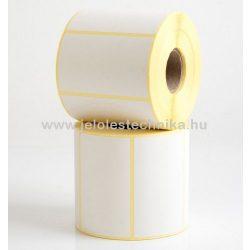 40x80mm THERMO öntapadós címke, 1 000 db/tekercs