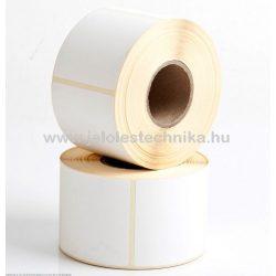 100x100mm VELLUM (matt papír) öntapadós címke, 500db/tekercs