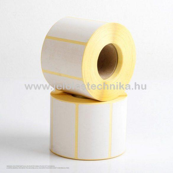 50x100mm THERMO öntapadós címke,1000db/tekercs