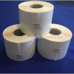 50x75mm PE White (műanyag) 1000 db/tekercs