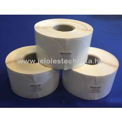 60mm kör PE White (műanyag) 1000db/tekercs; 40gy.
