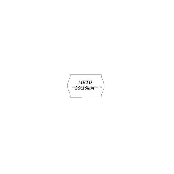 26x16mm METO árazószalag