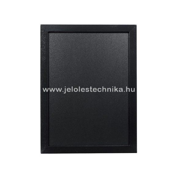 Krétatábla 30x40cm lakkozott fekete kerettel + ajándék krétamarker
