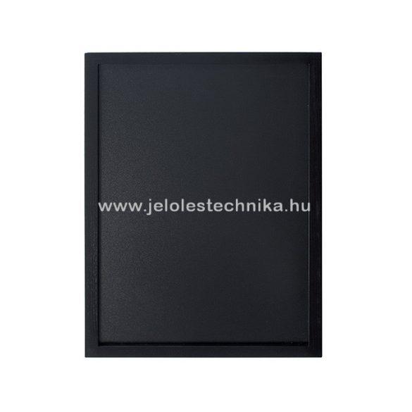 Krétatábla 40x60cm lakkozott fekete kerettel + ajándék krétamarker
