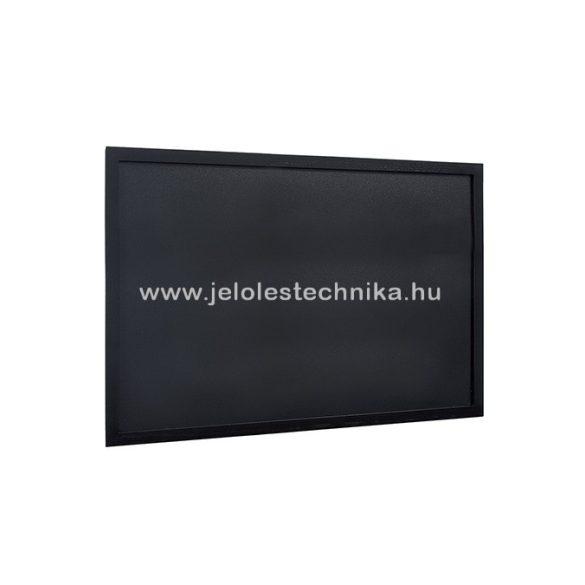 Krétatábla 60x80cm lakkozott fekete kerettel + ajándék krétamarker