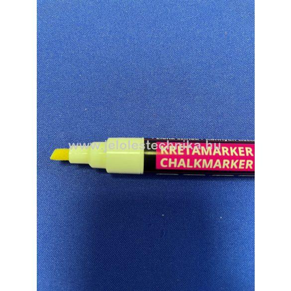 Folyékony krétamarker fehér - közepes 2-6mm heggyel