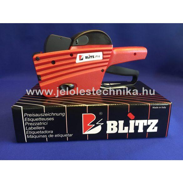 Blitz P14 (8+6 karakteres) árazógép