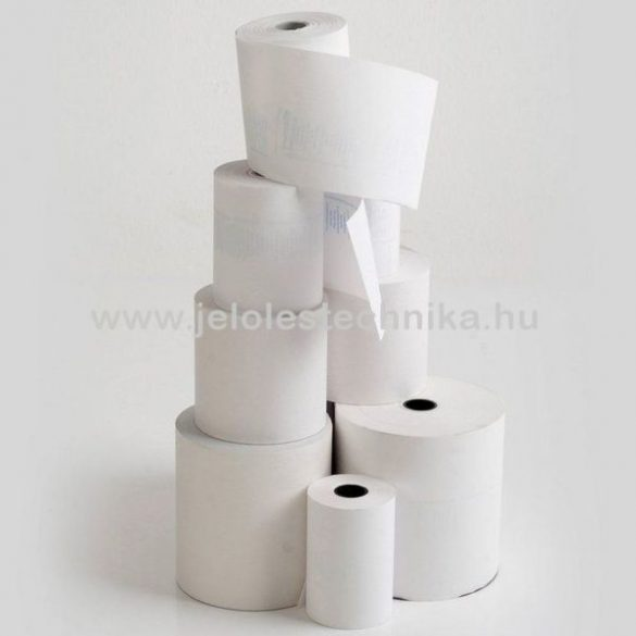 Hőpapír 80/50/12mm BPA mentes (27fm/tekercs); 100tekercs/doboz